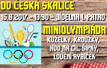 15. 6. 2017 – Miniolympiáda v DD