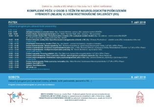 3. Konference o roztroušené skleróze