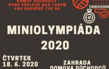18. 6. 2020 – Miniolympiáda v Domově důchodců