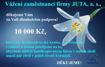 Vážení zaměstnanci firmy JUTA, a. s.